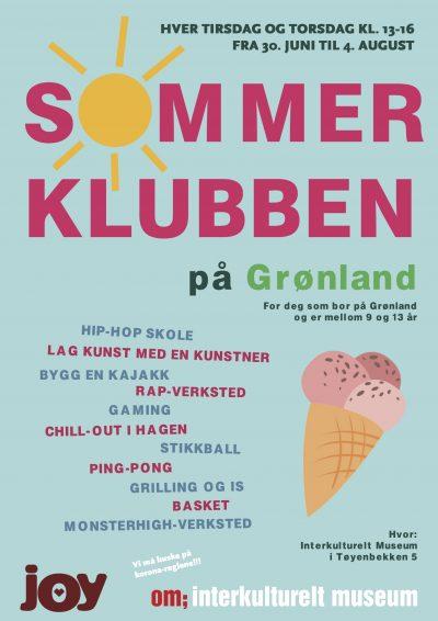Sommerklubben på Grønland 2020